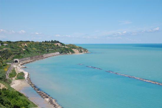 La vista dal Castello verso il mare - Ortona (5944 clic)