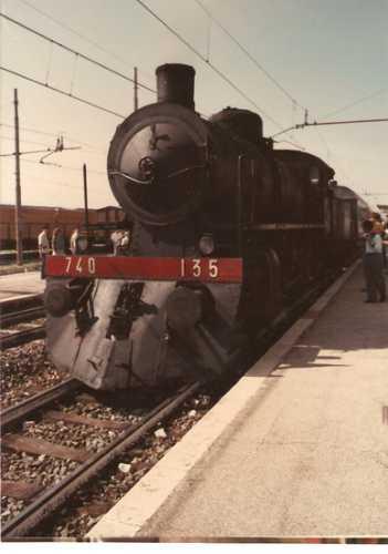 Una vecchia locomotiva 740 - Roccasecca (2447 clic)