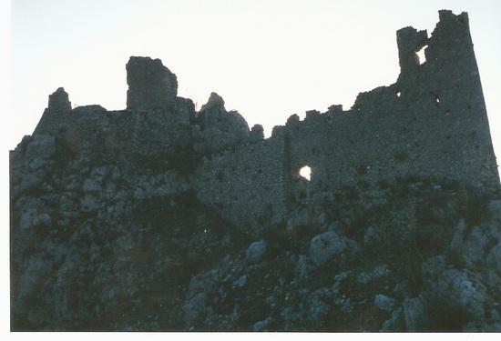 Il castello dei Conti di Aquino_02 - Roccasecca (1950 clic)
