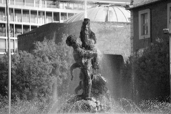 Fontana dell'Esedra  - Particolare - Roma (1575 clic)