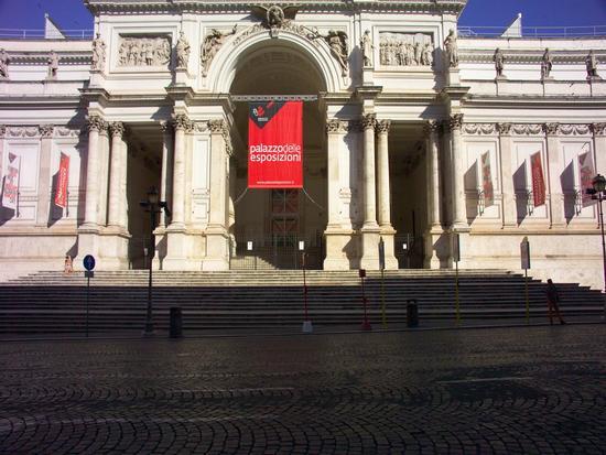 Il Palazzo delle Esposizioni - Roma (1446 clic)