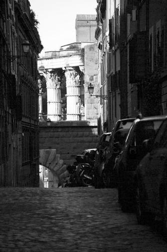 Via Baccina - Roma (1994 clic)