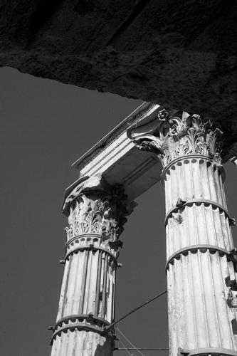 due meravigliose colonne - Roma (2061 clic)