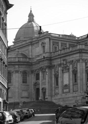 Scorcio di S.Maria Maggiore - Roma (1597 clic)