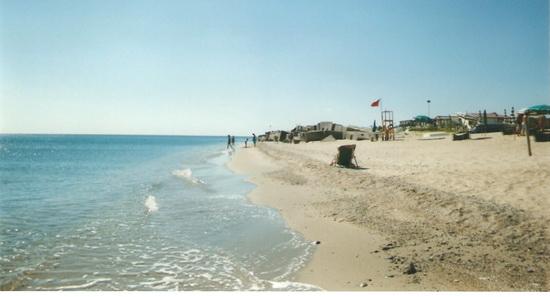 Spiaggia con bandiera rossa - Soverato (4415 clic)