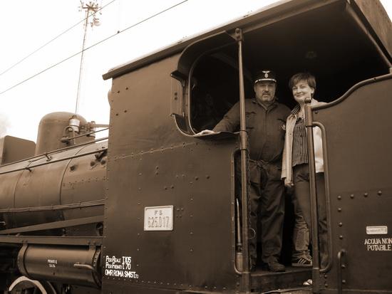 Treno a vapore - Velletri (3214 clic)