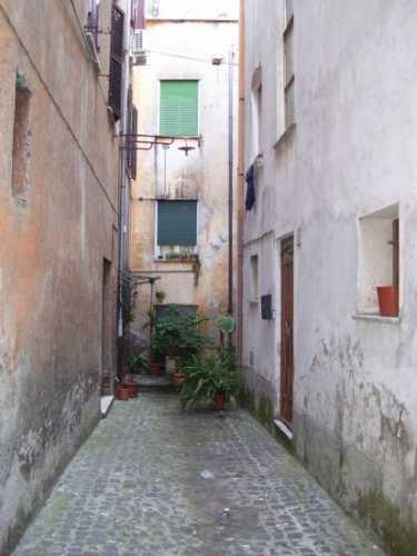 Vicolo cieco - Velletri (1963 clic)