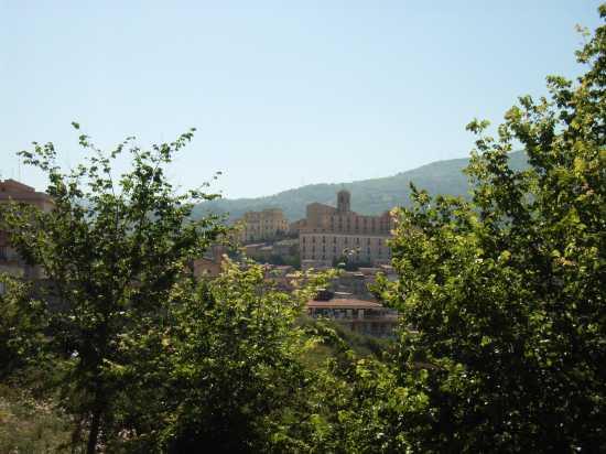 Belvedere Cattedrale, Seminario, Palazzo Vescovile (Centro storico) dal Parco Robinson - Patti (4720 clic)