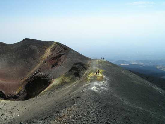 cratere centrale - Etna (3428 clic)