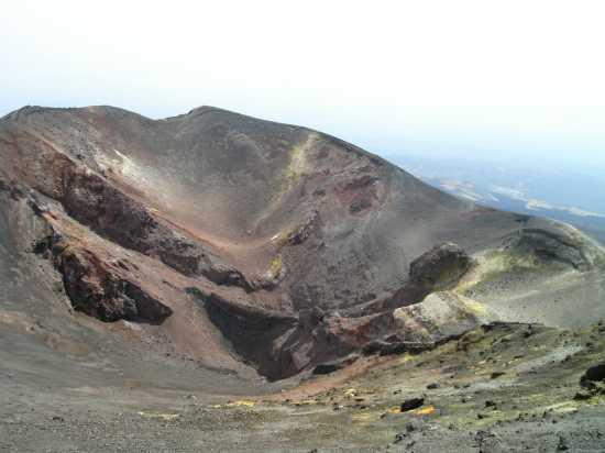 cratere centrale - Etna (2329 clic)