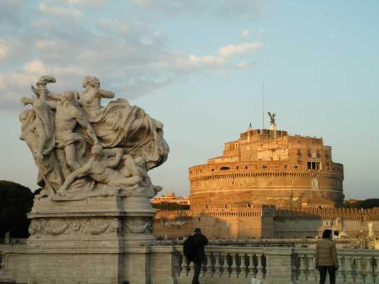 veduta di castel sant'angelo - Roma (2238 clic)
