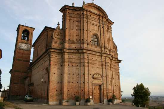 chiesa di San Vincenzo - CASORZO - inserita il 24-Aug-09