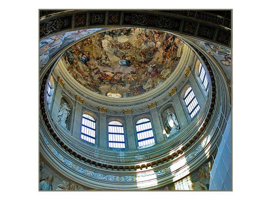 Basilica di Sant' Andrea  - Particolare interno della Cupola - Mantova (6644 clic)