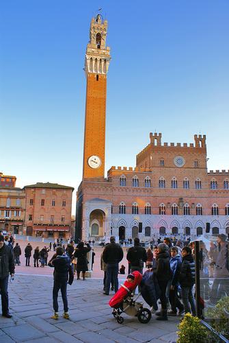 Un attimo di Piazza del Campo - Siena (1324 clic)