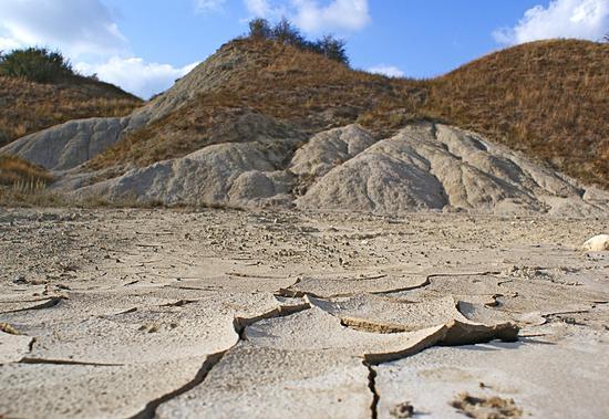 Strani cumuli di argillla - Saline di volterra (1343 clic)