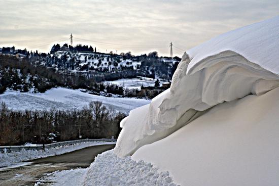 Neve a Orciatico (1557 clic)