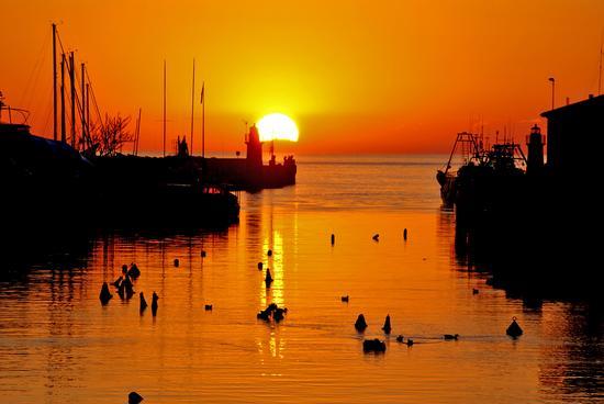 Tramonto arancio,Castiglione della Pescaia (2921 clic)
