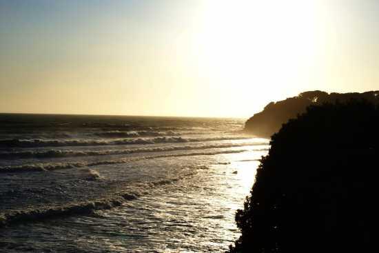 Tramonto su mareggiata - Castiglioncello (2205 clic)