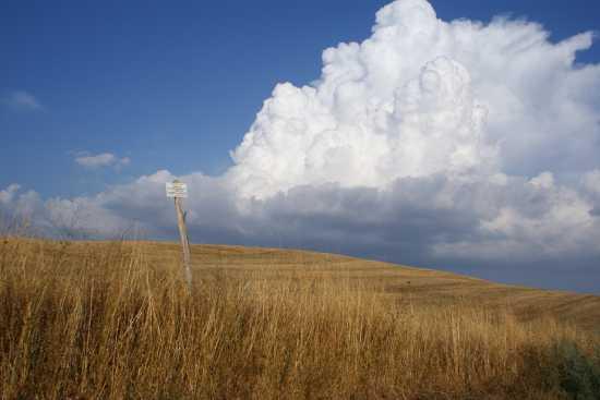 Nuvola minacciosa - Orciatico (2417 clic)