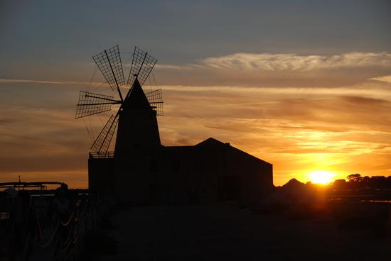 Tramonto alle Saline - Marsala (4050 clic)