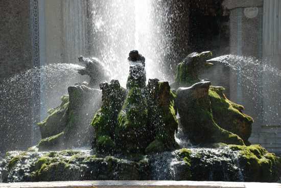 Fontana dei Draghi a Villa d'Este - Tivoli (4597 clic)