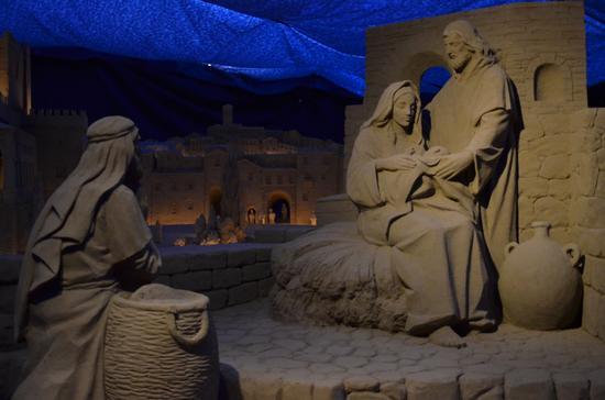PRESEPE DI SABBIA - TORRE PEDRERA - Rimini (1252 clic)