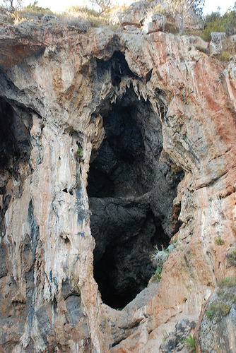 Grotta 2 - Marina di camerota (2378 clic)