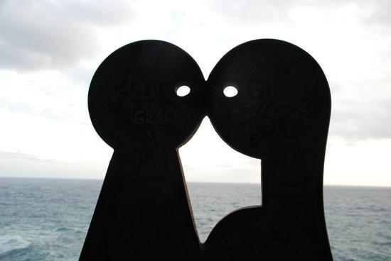 Lui e lei - Manarola (2631 clic)