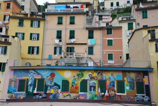 Murales - Riomaggiore (3448 clic)