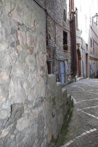 Fiuggi, centro storico.  (2745 clic)