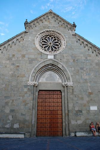 Chiesa di San Lorenzo.  - Manarola (2352 clic)