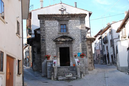 Chiesa a Pescocostanzo. (3175 clic)