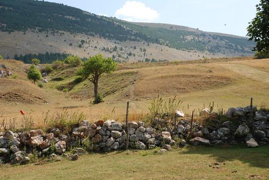 Paesaggio abruzzese.  - Pescocostanzo (2006 clic)