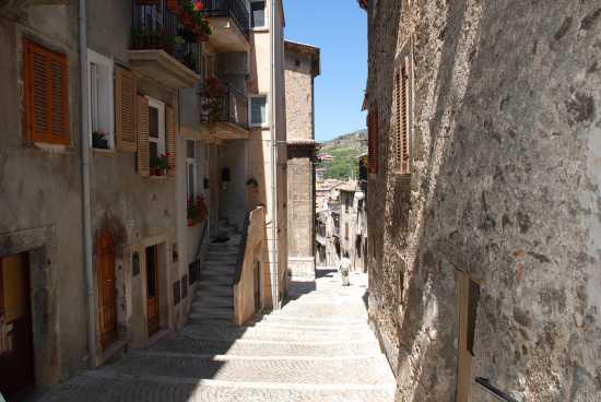 Scalinata - Scanno (2061 clic)