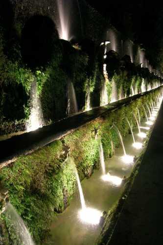 Le 100 fontane - Tivoli (3131 clic)