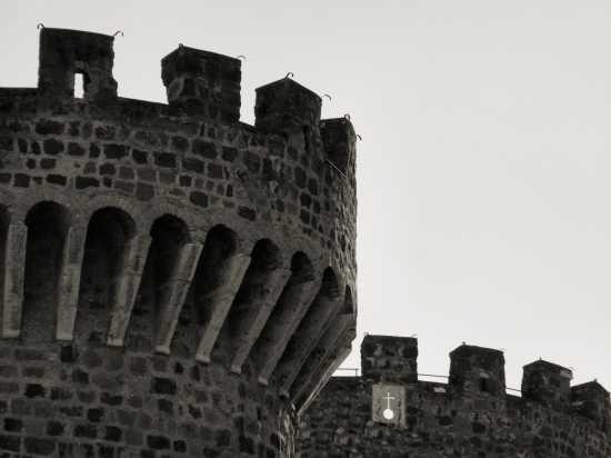Tivoli Rocca Pia (Particolare delle torri) (1636 clic)
