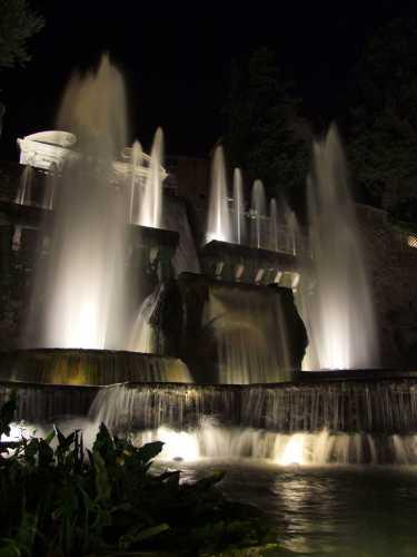Villa d'Este: fontana di Nettuno - Tivoli (2021 clic)
