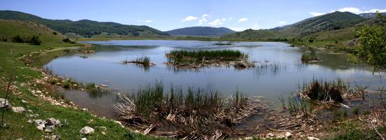 lago di rascino - Rieti (4333 clic)