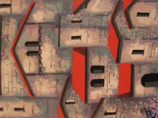 tetti su tela - Palmi (2004 clic)
