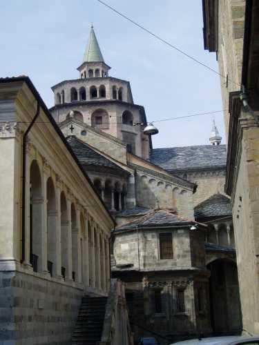 Ateneo e Basilica S. Maria Maggiore in Città Alta - BERGAMO - inserita il 12-Nov-09
