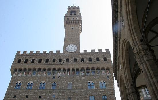 palazzo della signoria - particolare - Firenze (2972 clic)