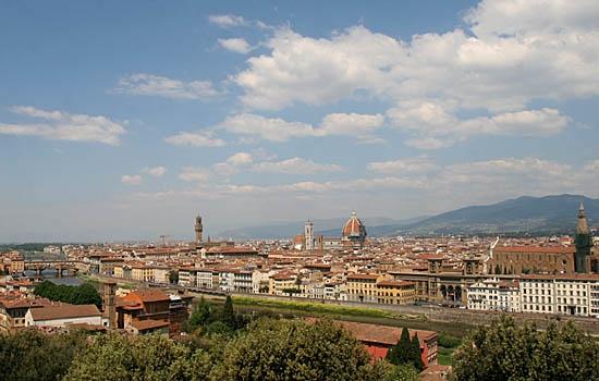 veduta da piazzale michelangelo - Firenze (5646 clic)