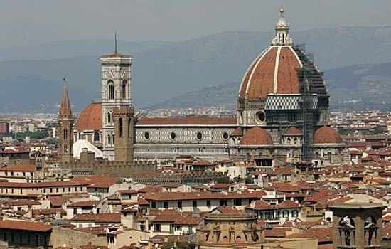 particolare duomo  e campanile di giotto - Firenze (32958 clic)