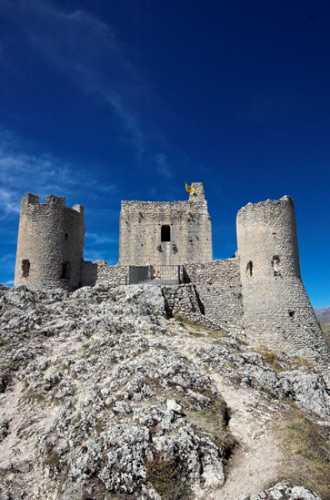 Rocca Calascio, il castello (1994 clic)