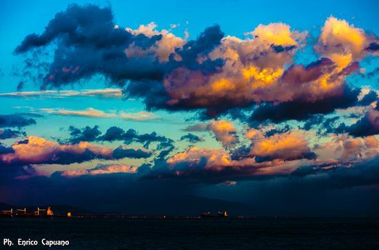 Cetara - tramonto   photo by Enrico Capuano (364 clic)