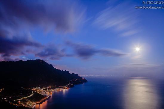 Tramonto in Costa d'Amalfi  (303 clic)