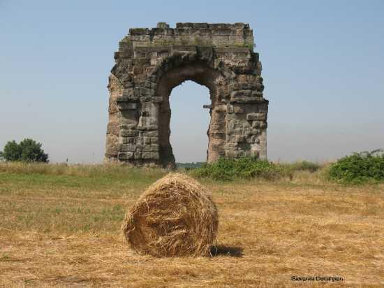 l'arco ed il fieno - Roma (1601 clic)