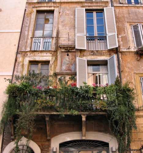 balcone - Roma (1722 clic)