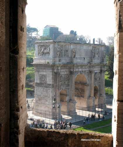 L'arco di Costantino - Roma (1778 clic)
