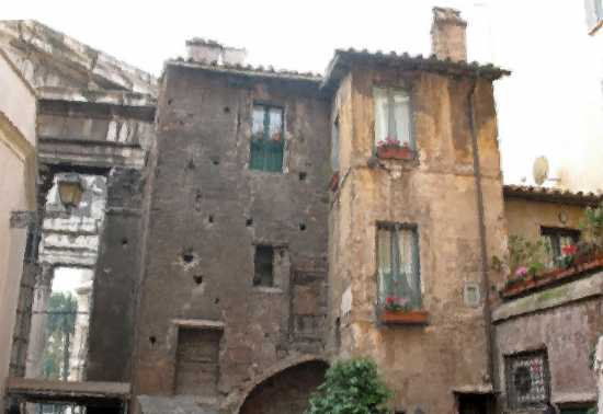 Un angolo di Medioevo - Roma (1678 clic)
